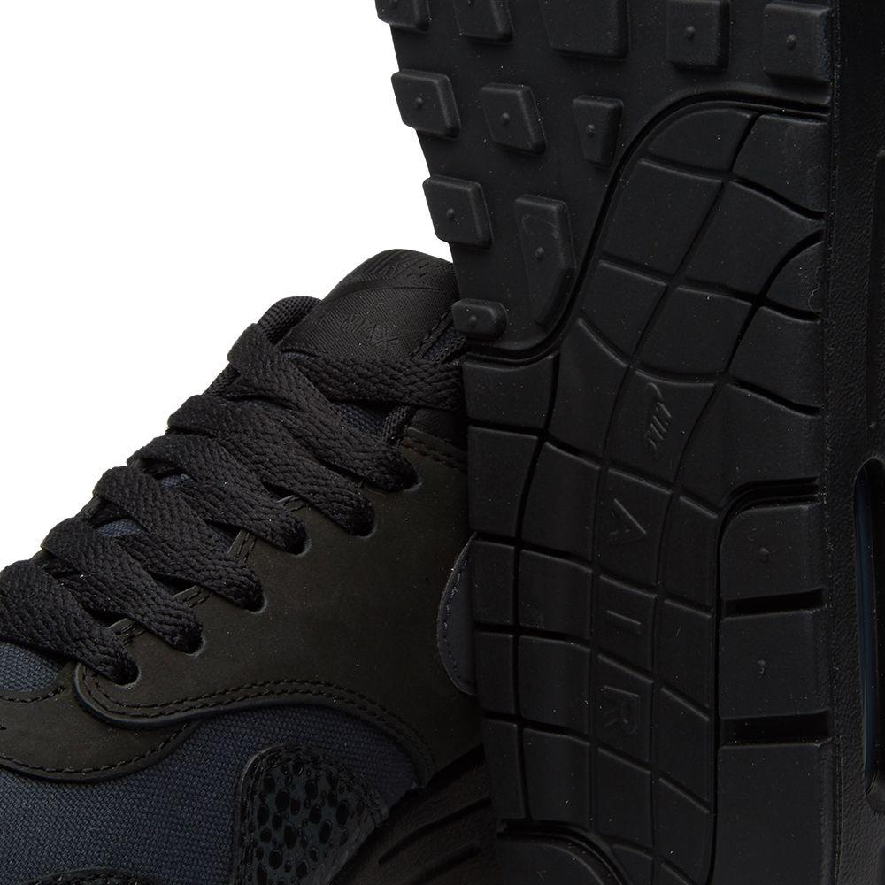 fb4145aa37 Nike Air Max 1 Premium Black & Bonsai | END.