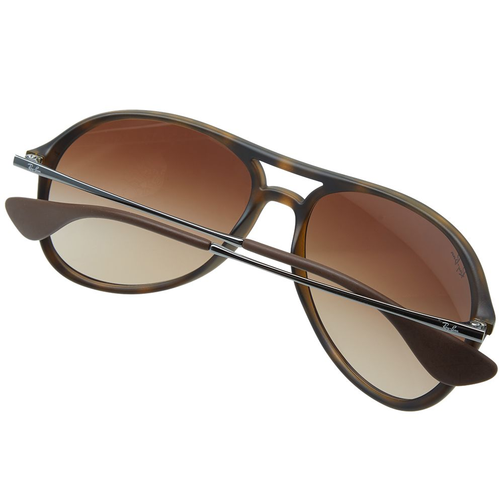 603d7010ee6 Ray Ban Alex Sunglasses Havana Rubber   Brown Gradient