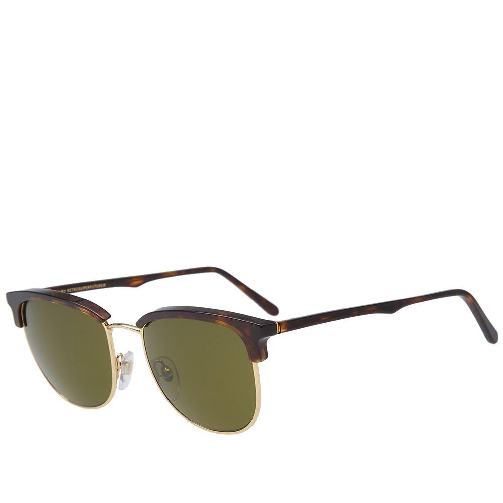 4d414639376 SUPER by RETROSUPERFUTURE Terrazzo Sunglasses Green