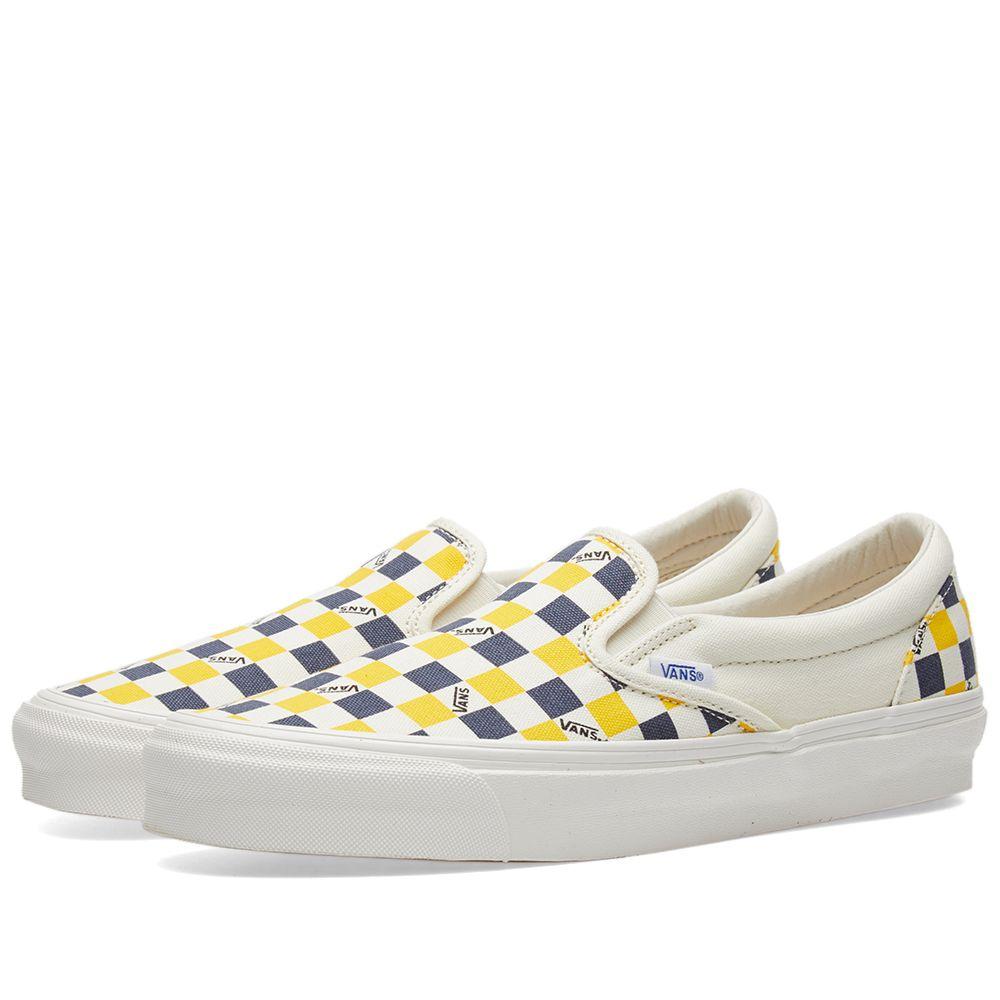 d53f3e2239 Vans Vault OG Classic Slip On LX White