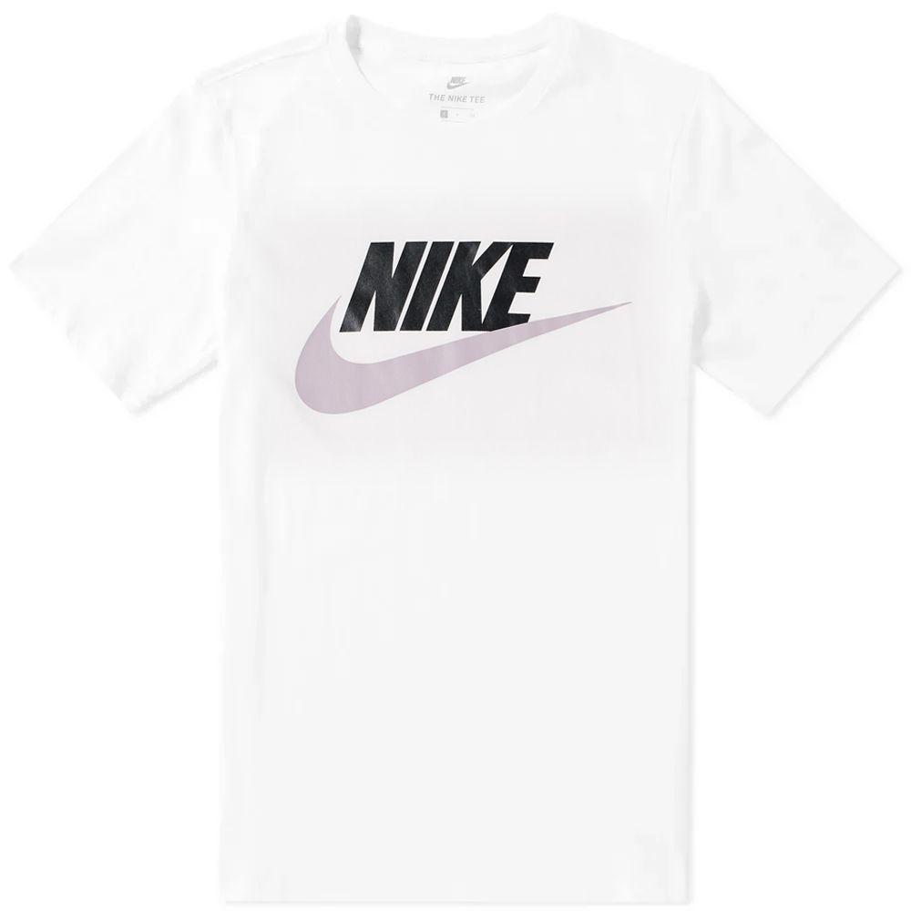 ab39f12c622d Nike Futura Icon Tee White   Elemental Rose