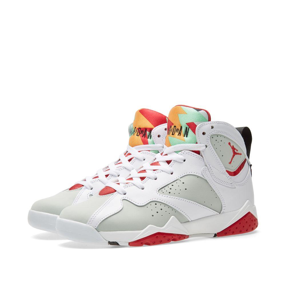 1827c8c83fa7 Nike Air Jordan VII Retro BG  Hare  White