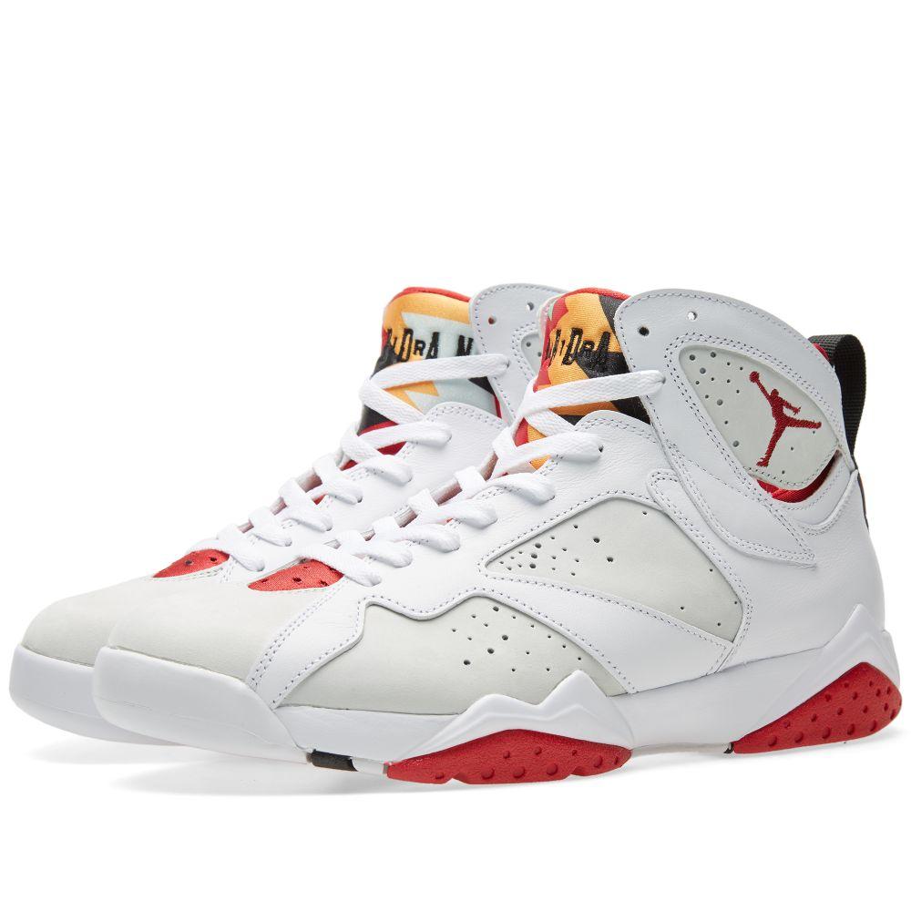 5572b3190bd98 Nike Air Jordan VII Retro  Hare . White