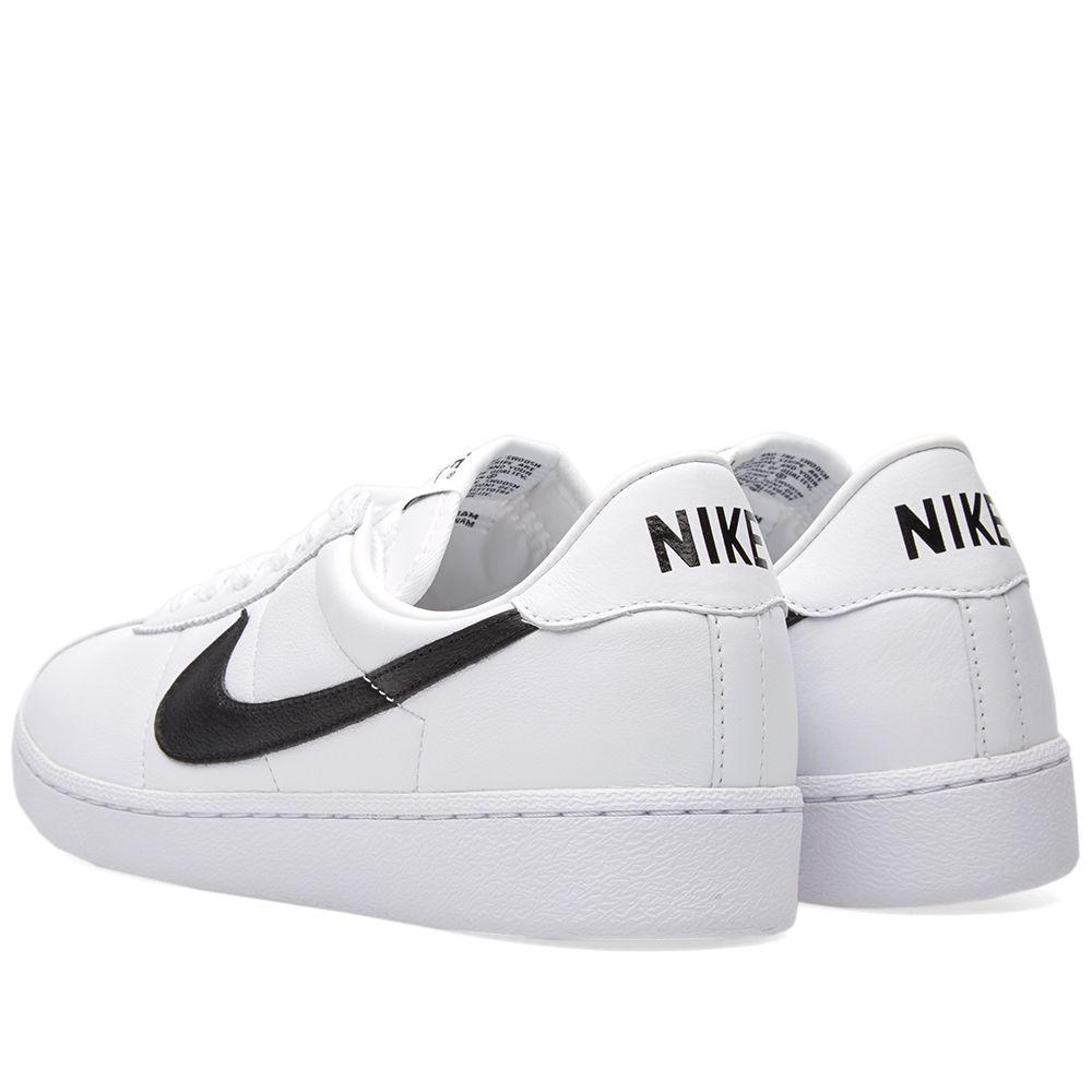 382040837cf6 Nike Bruin QS White   Black