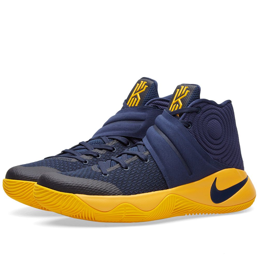 hot sale online b6939 eb7e2 Nike Kyrie 2 Mid Navy   University Gold   END.