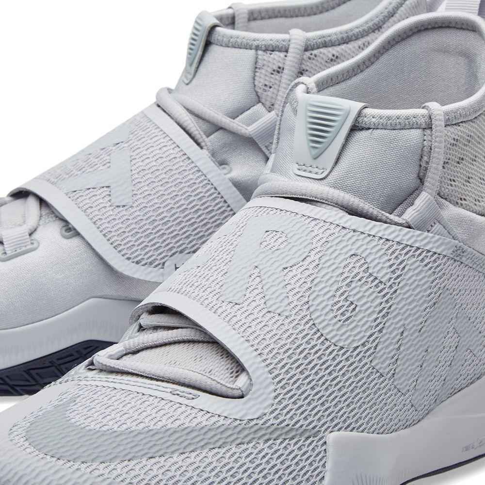 49222d8210f2b Nike x Fragment Design Zoom Hyperrev 2016 Wolf Grey   Mid Navy