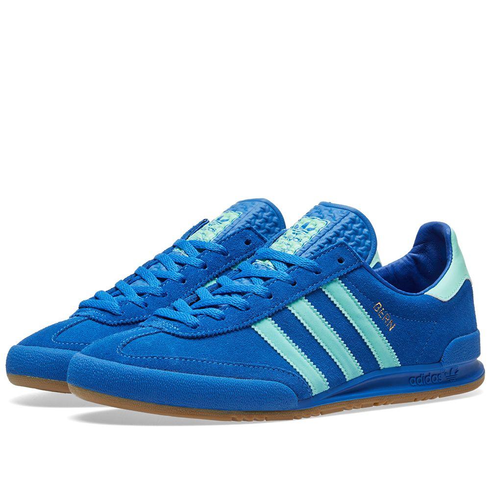 Adidas Jeans  Bern  Blue   EAS Green  d48f0aa4ae65