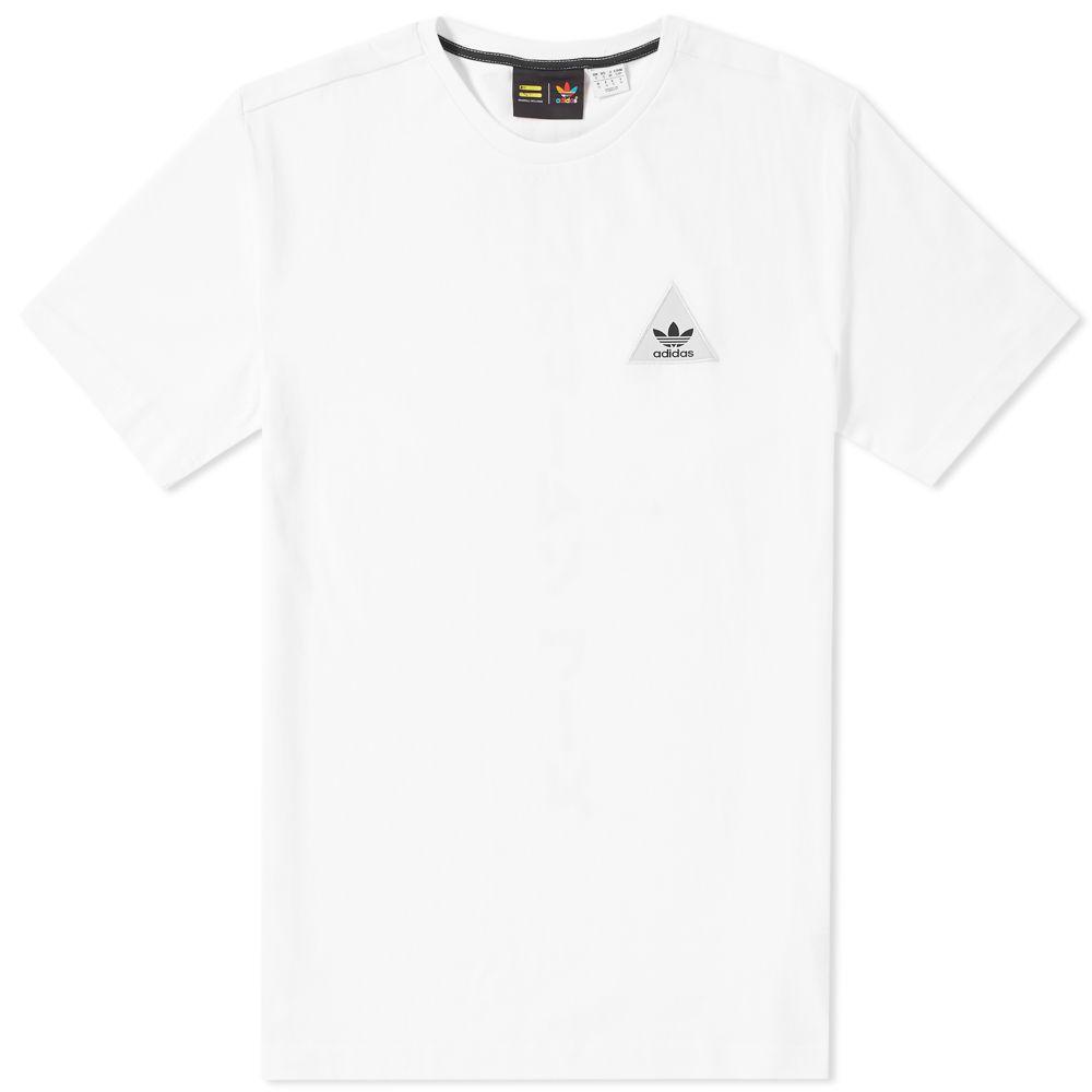 d890e8e395a6d Adidas x Pharrell Williams Japanese Tee White   Black