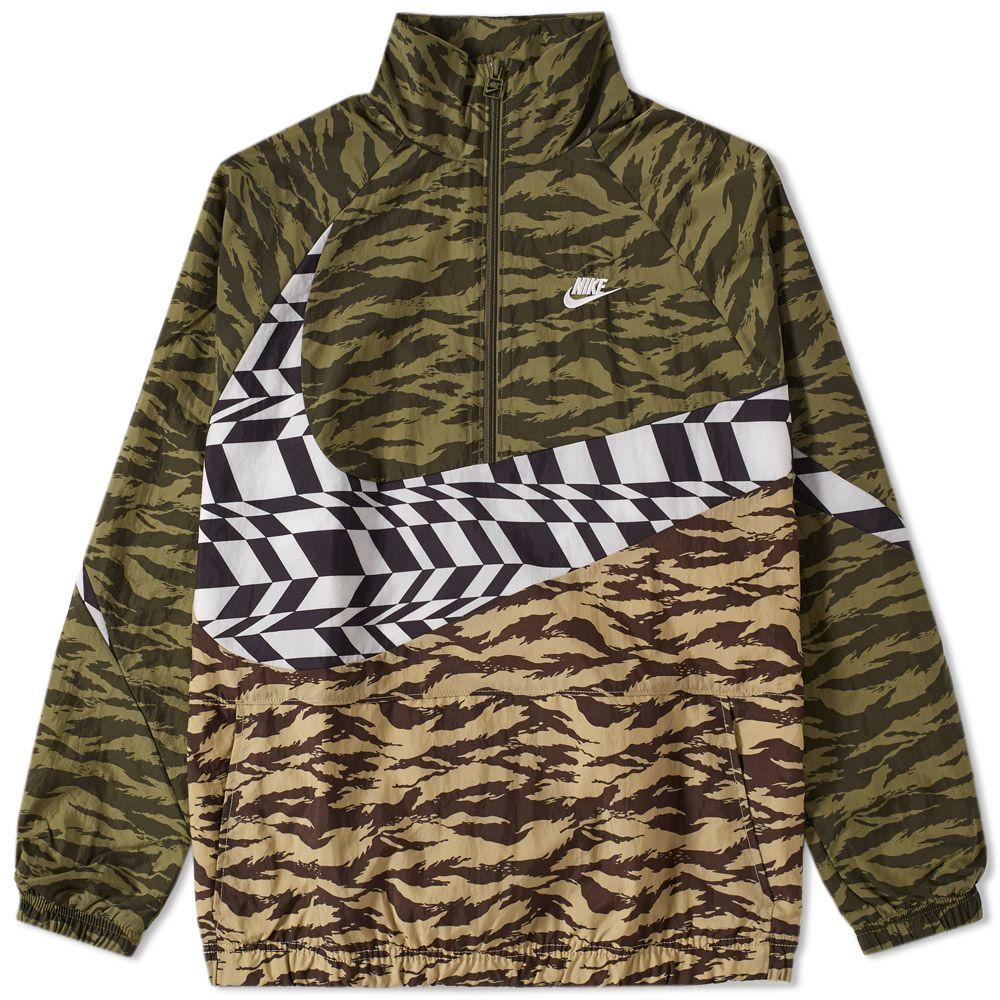 brand new 9031f 1ac26 homeNike AOP Swoosh Half Zip Woven Jacket. image. image. image. image.  image. image. image. image. image. image. image. image. image