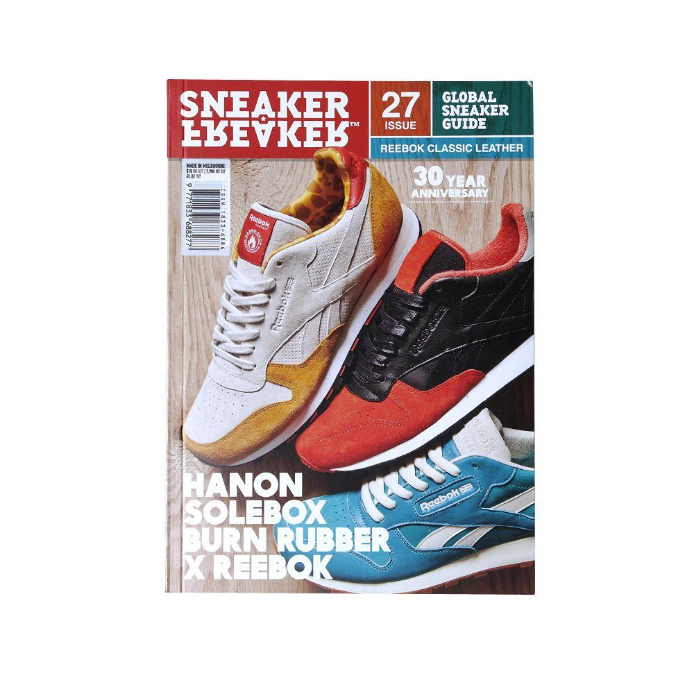 326de848e82d Sneaker Freaker Issue 27 Reebok Classic Leather