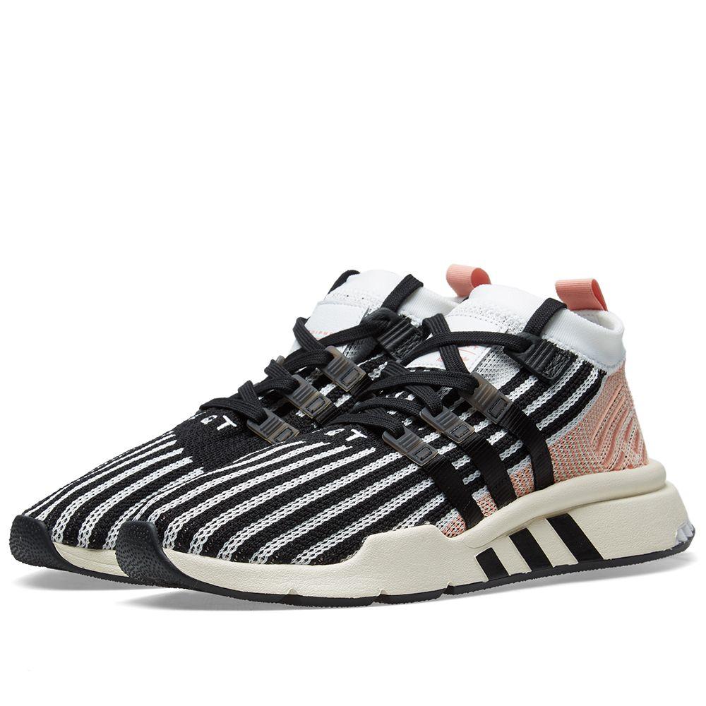 promo code 0520e fe111 Adidas EQT Support Mid ADV White, Core Black  Trace Pink  EN