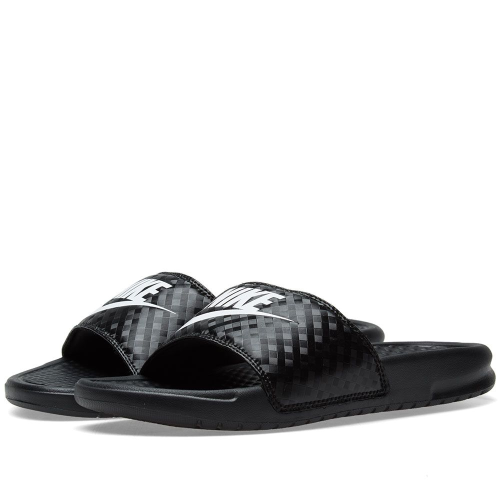 80b9718a299 Nike Benassi JDI W Black   White
