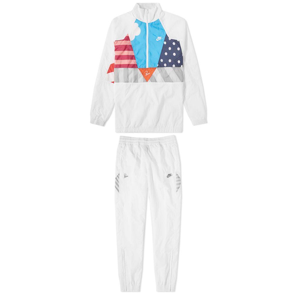 1acffd692786b7 Nike x Parra Half Zip Tracksuit White   Multi