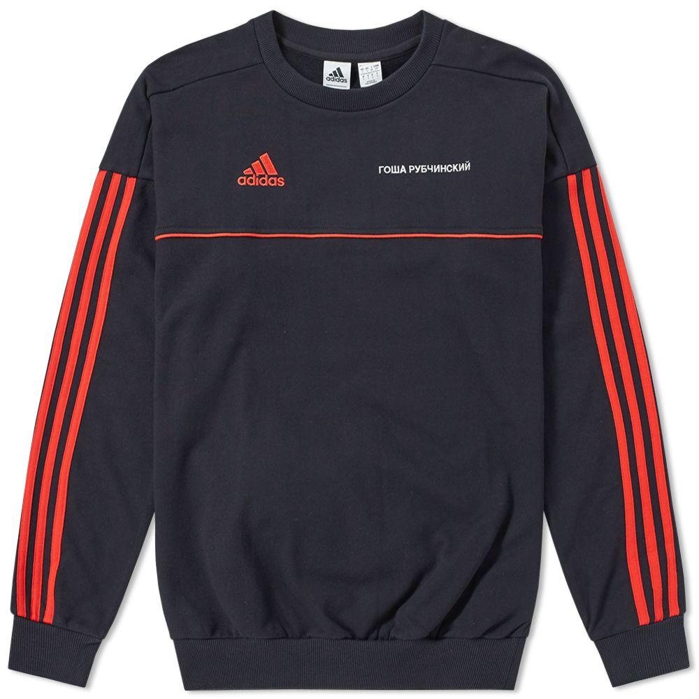07d8c17a8586 Gosha Rubchinskiy x Adidas Crew Sweat Black
