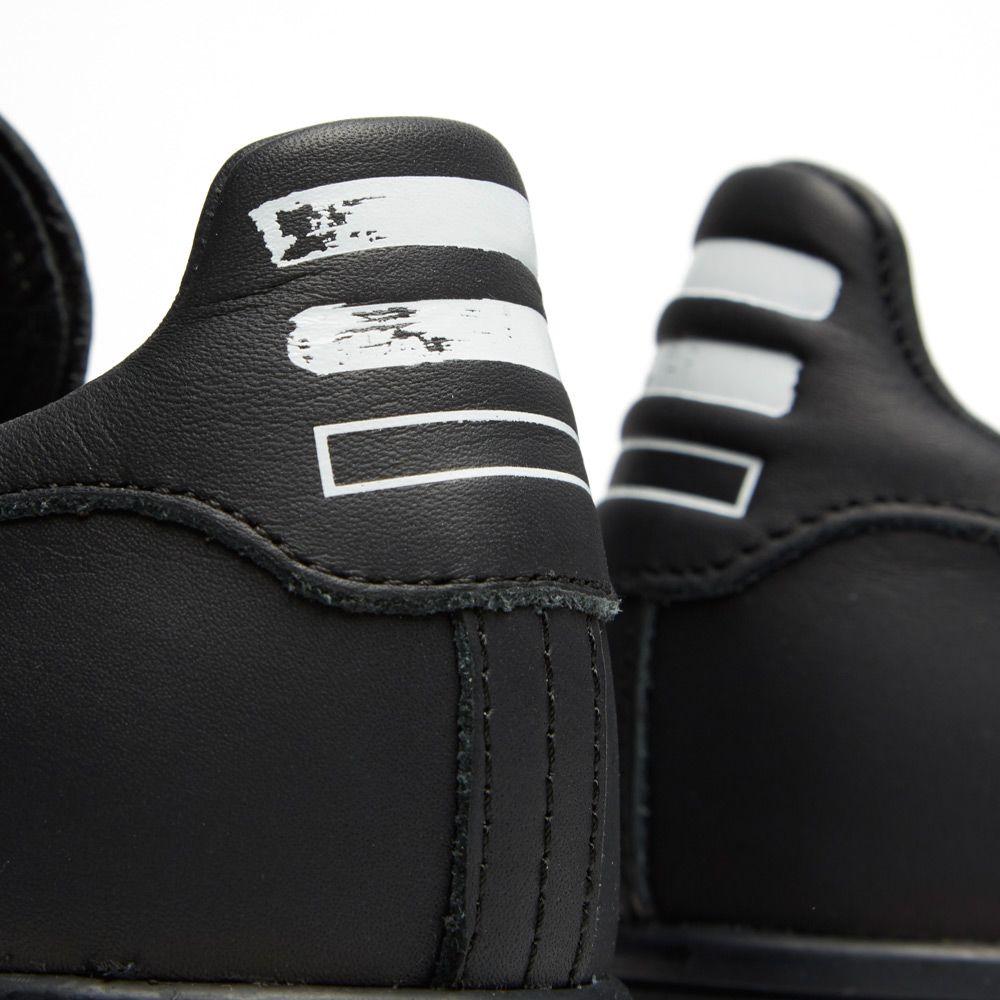 6a6bfcd0fe2 Adidas Consortium x Pharrell Williams Stan Smith  Solid  Black
