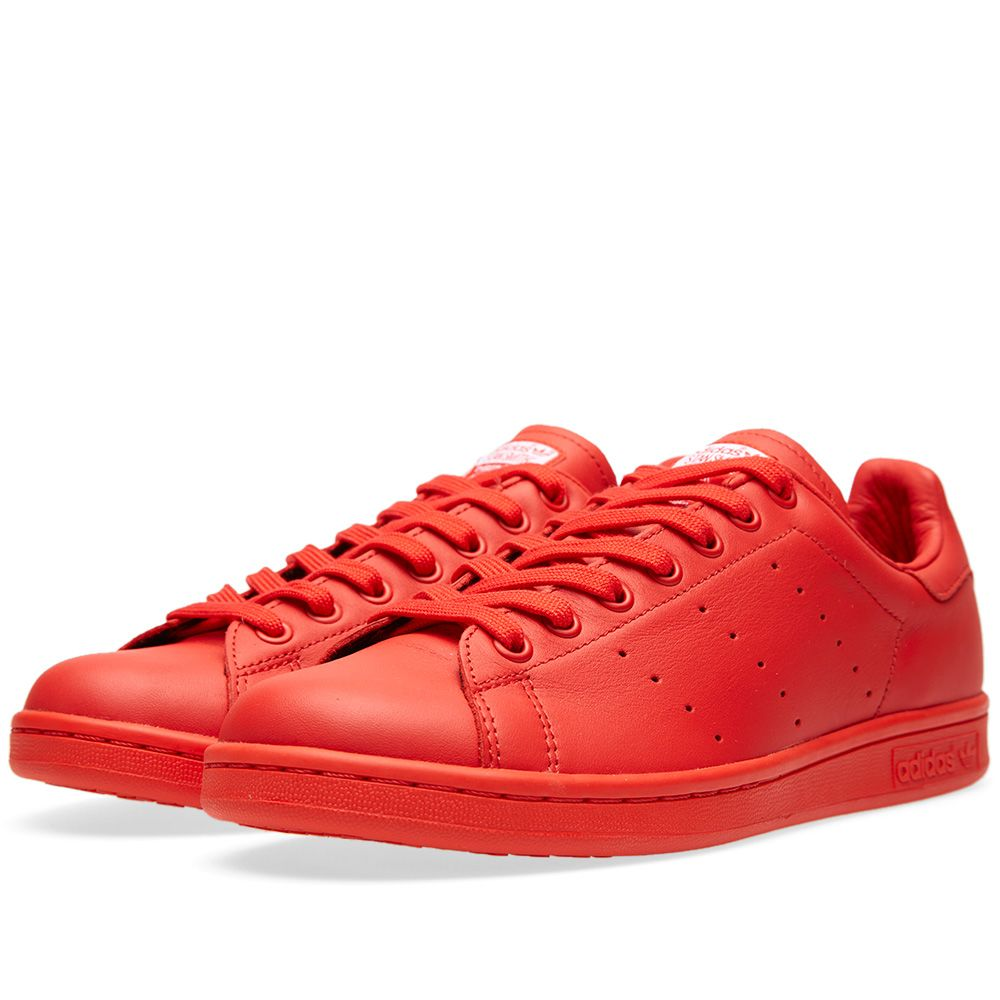 f5a65267746cb Adidas Consortium x Pharrell Williams Stan Smith  Solid  Red