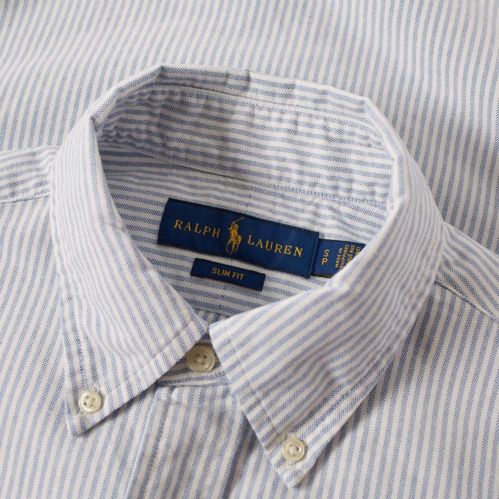 15b1a96570 homePolo Ralph Lauren Slim Fit Button Down Stripe Oxford Shirt. image.  image. image. image. image. image. image. image. image