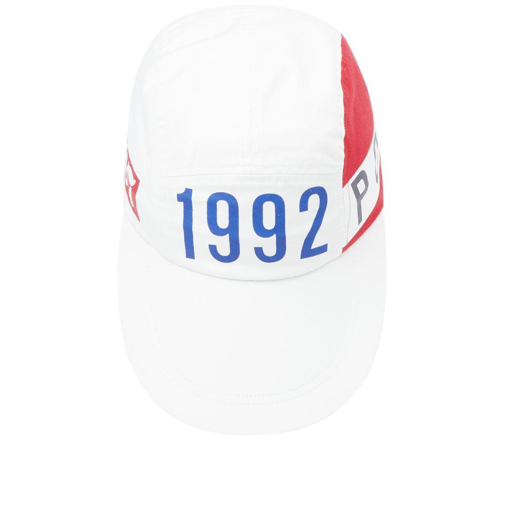 Polo Ralph Lauren Stadium 1992 5 Panel Cap Off White  2a34a66c83e