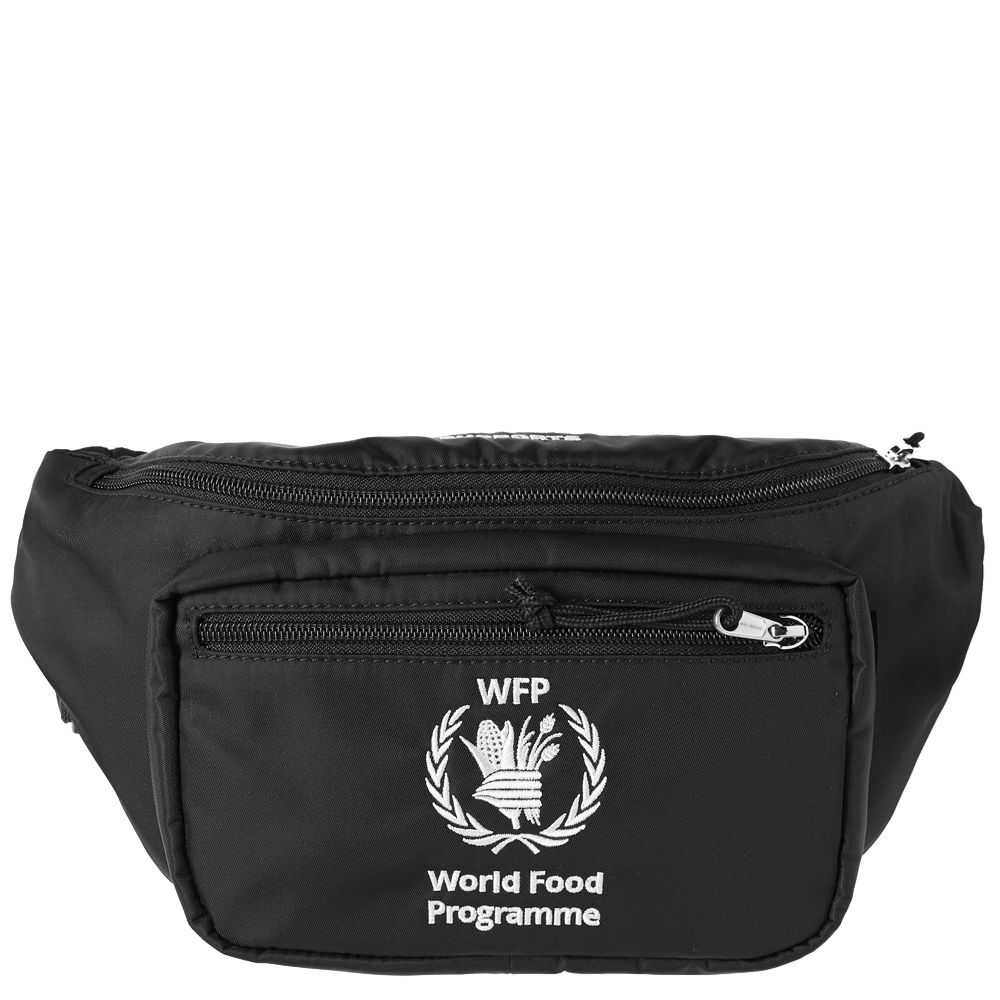 90075041011b Balenciaga World Food Programme Waist Bag Black