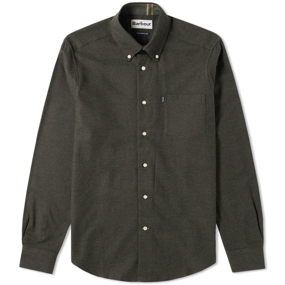 Barbour Don Shirt. Dark Olive.  75  49. image e35e84c571e1