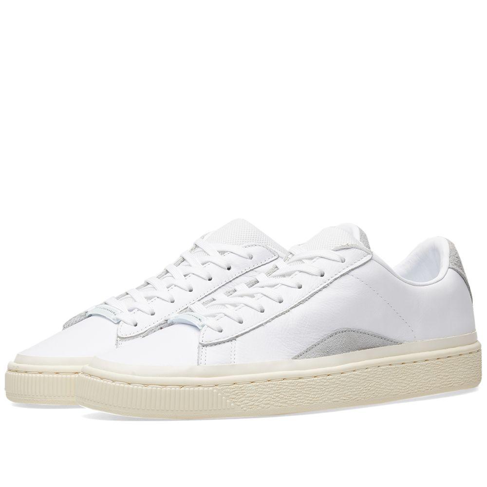 1c88cc8f4824e9 Puma x Han Kjobenhavn Basket. Puma White   Whisper White. ₩138