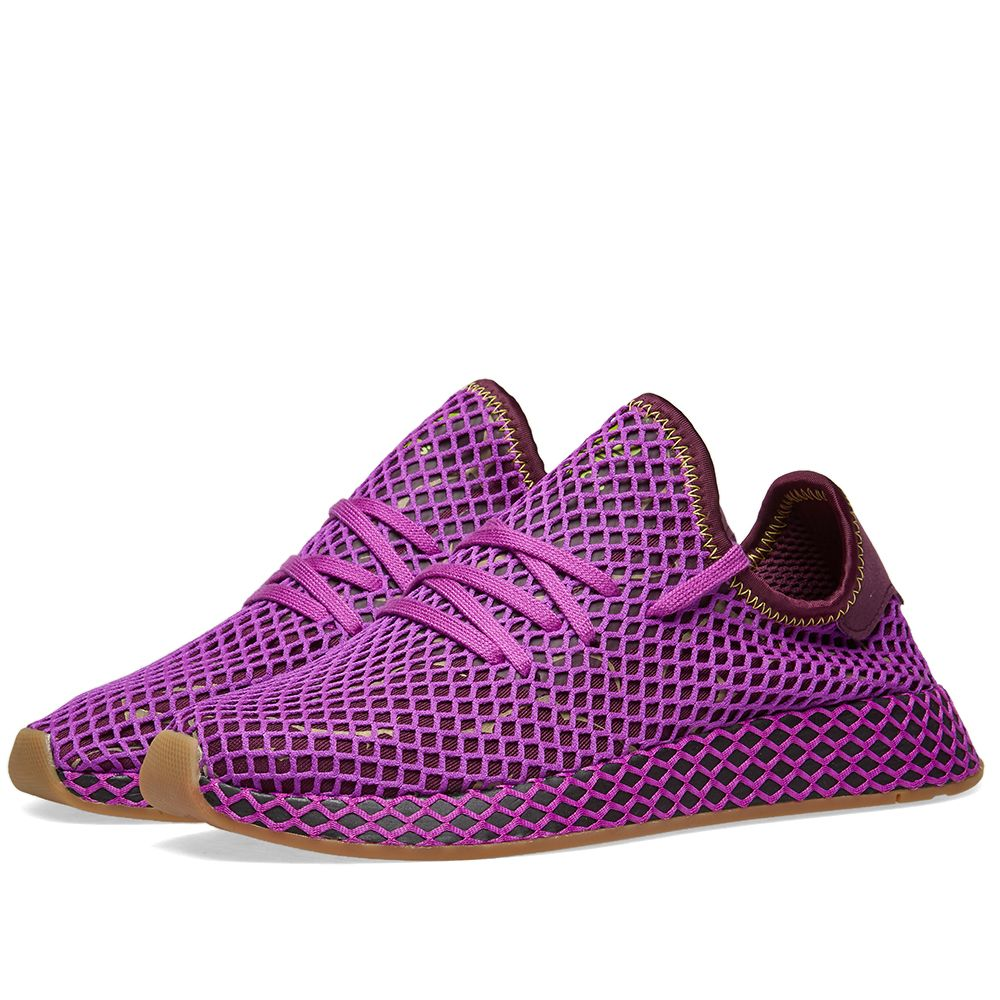 d102ef530547 Adidas x Dragon Ball Z Deerupt Runner  Son Gohan  Purple