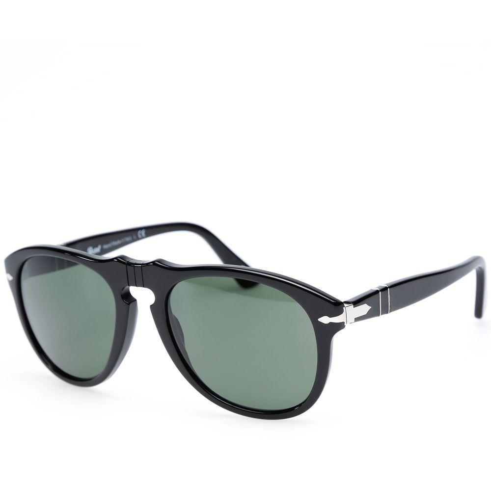 08113e03d97 Persol 649 Aviator Sunglasses Black