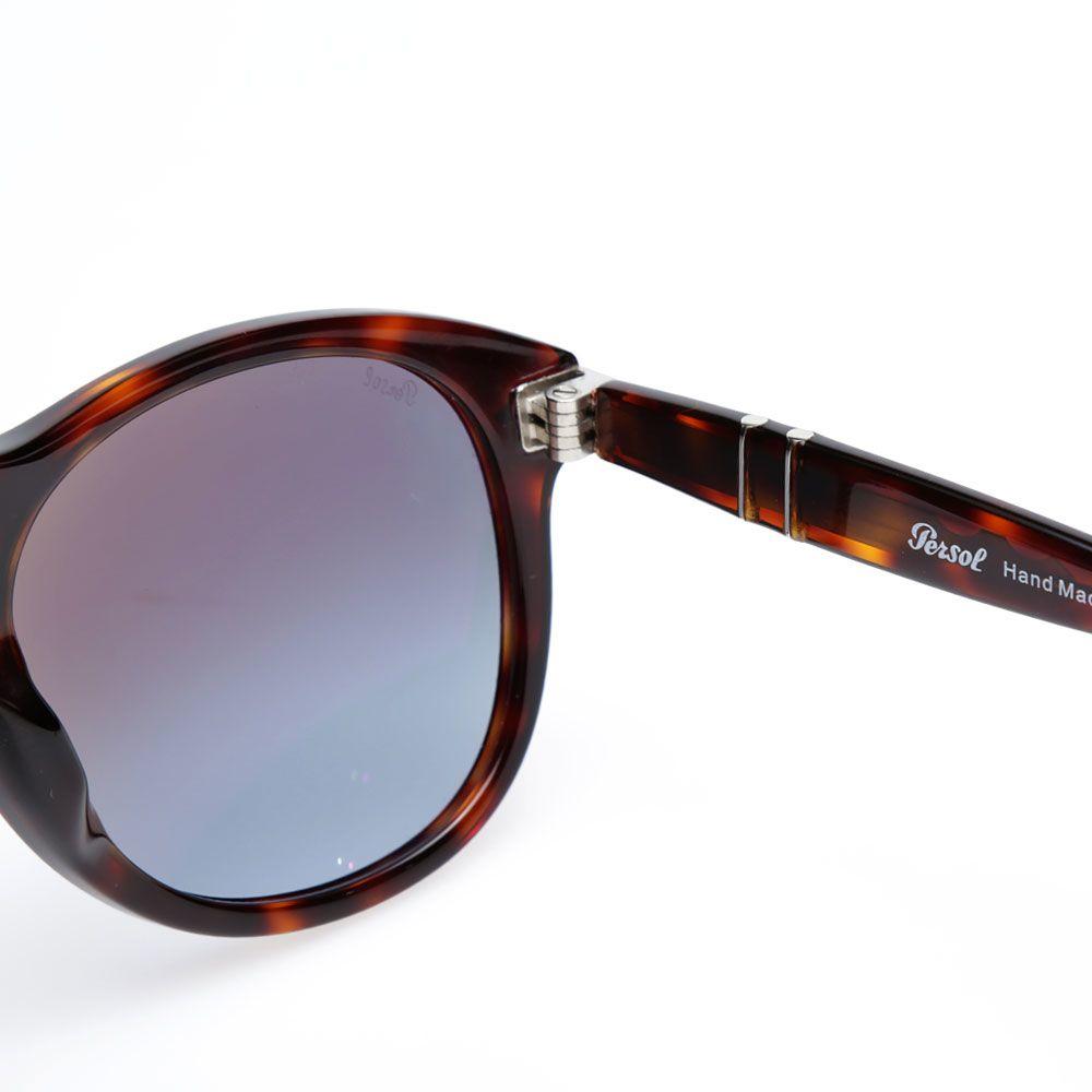 0a8cb9cb586 Persol 649 Aviator Sunglasses Havana