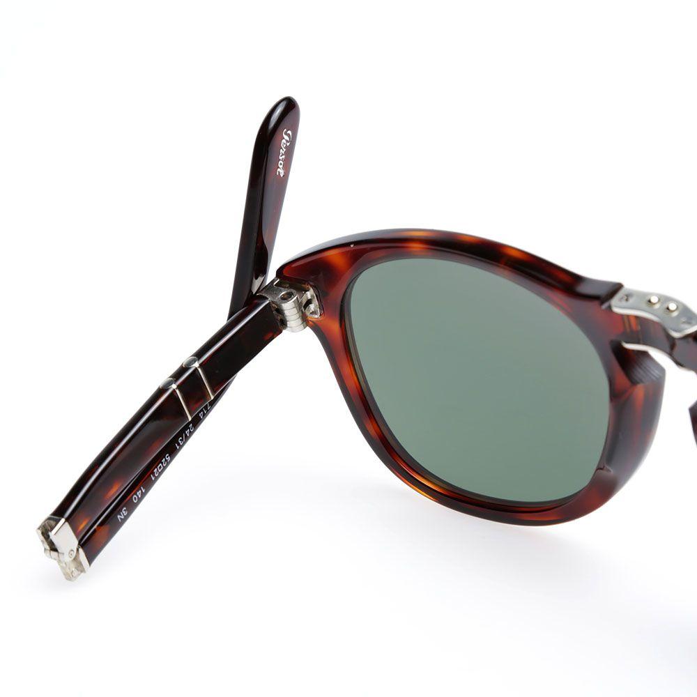 c575c6e083b Persol 714 Foldable Aviator Sunglasses Havana