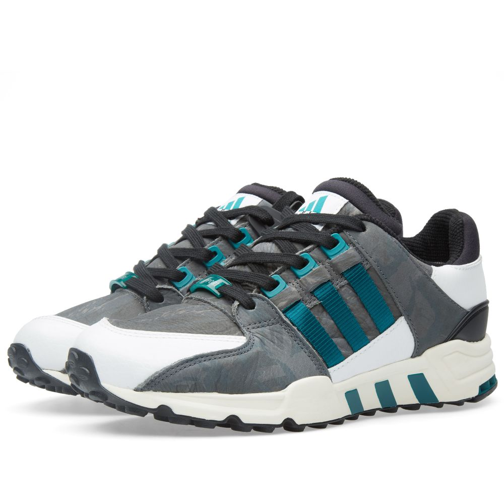 online store 1ea5c 7feb3 Adidas EQT Running Support 93 Tokyo Core Black, Emerald  Whi