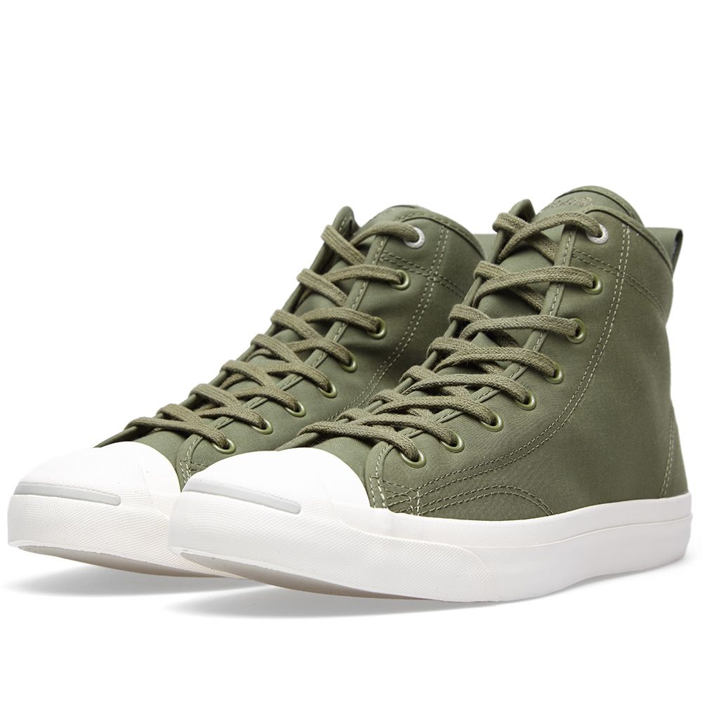 d14e78ecaced77 Converse x Hancock Jack Purcell Mid QS Military Green