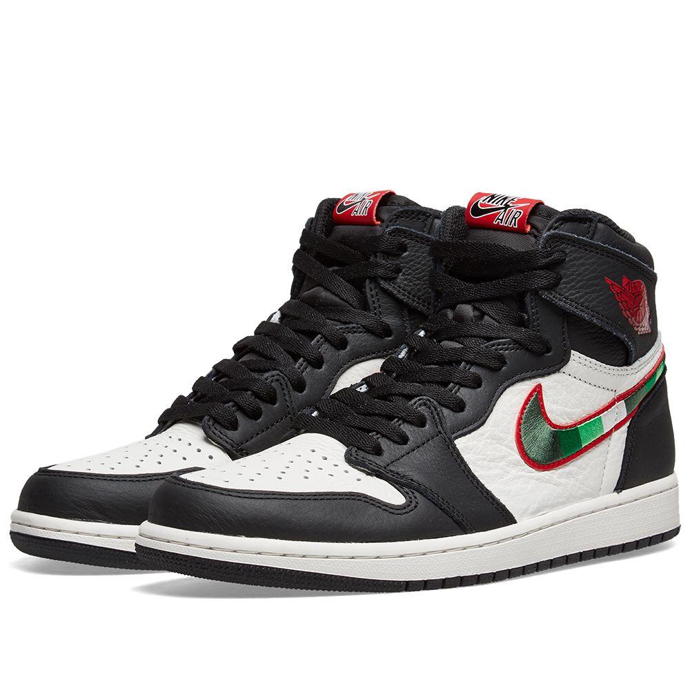 7f38ffdc75d8e Air Jordan 1 Retro High OG Black