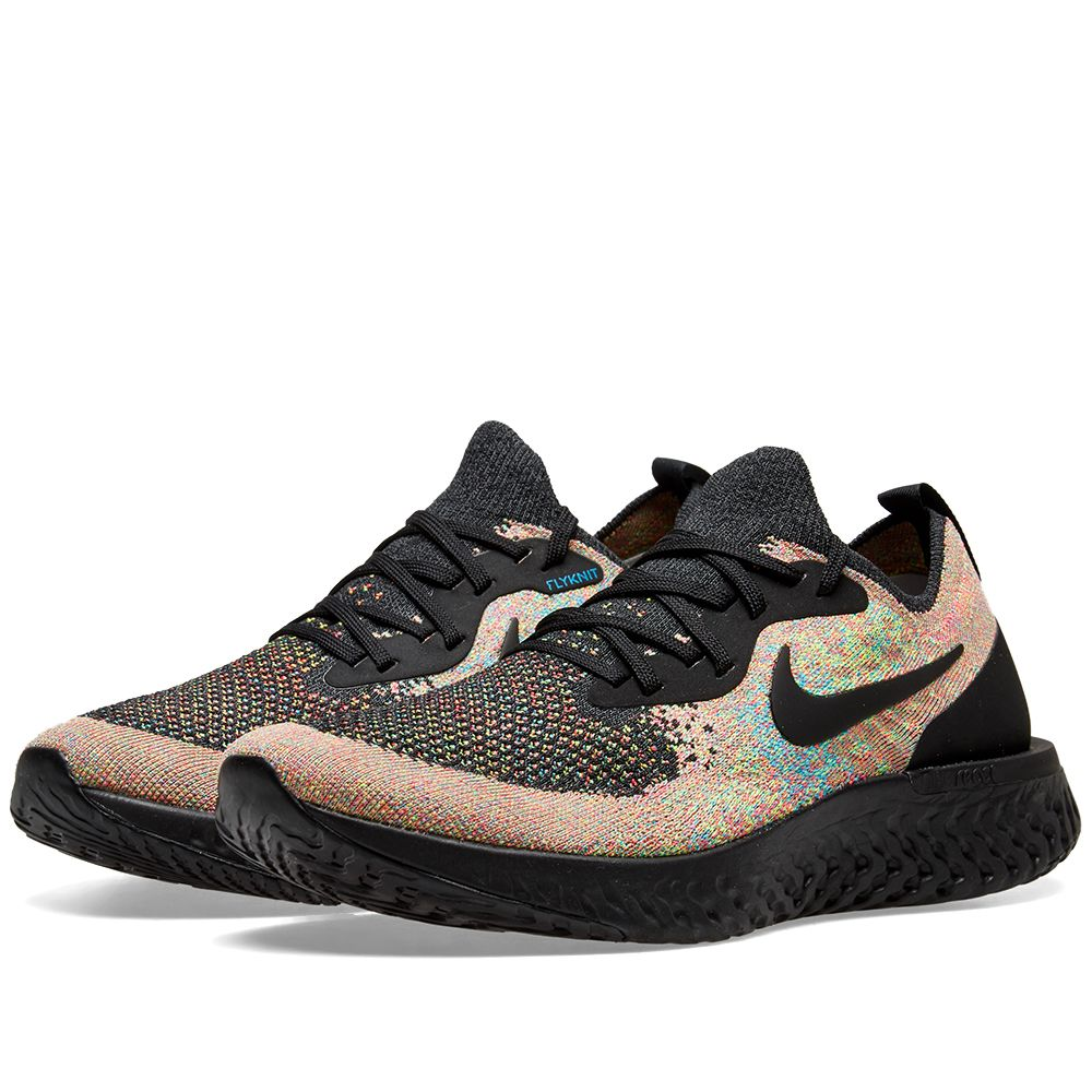 4fa3583f94acc Nike Epic React Flyknit Black