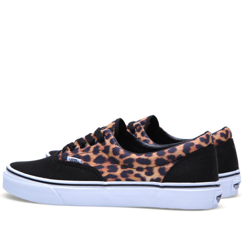 4841787ba9fe Vans Era Leopard Black