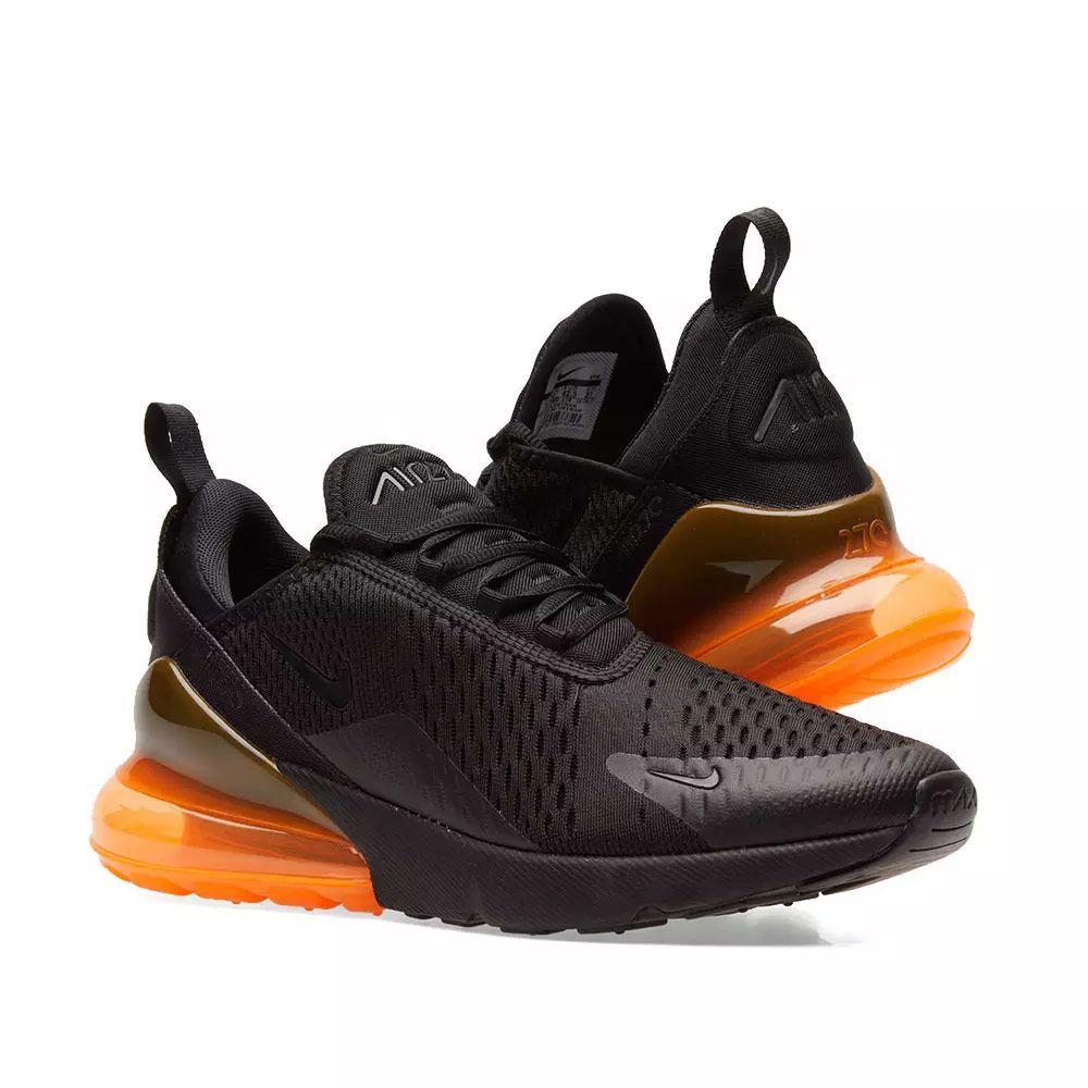 newest fd219 b5997 Nike Air Max 270 Black  Total Orange  END.