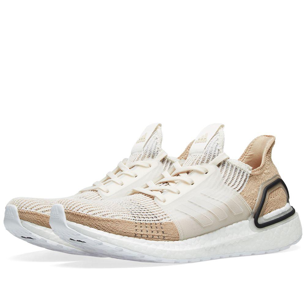 00e9061619a8d Adidas Ultra Boost 19 W. Chalk White ...