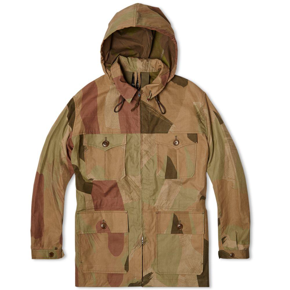 e410a48486b8 Nigel Cabourn Mountain Jacket Light Camo
