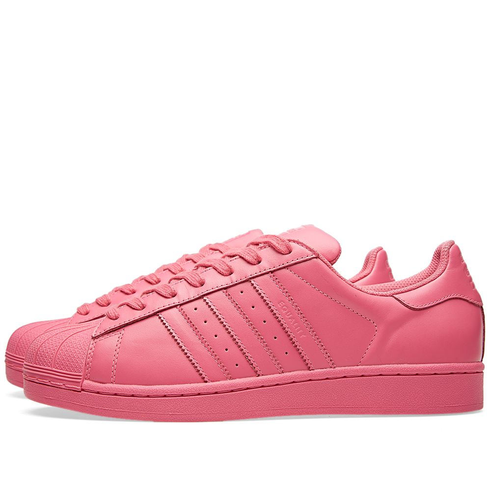 super popular a866e e0893 Adidas x Pharrell Superstar  Supercolour . Semi Solar Pink. HK 649. image