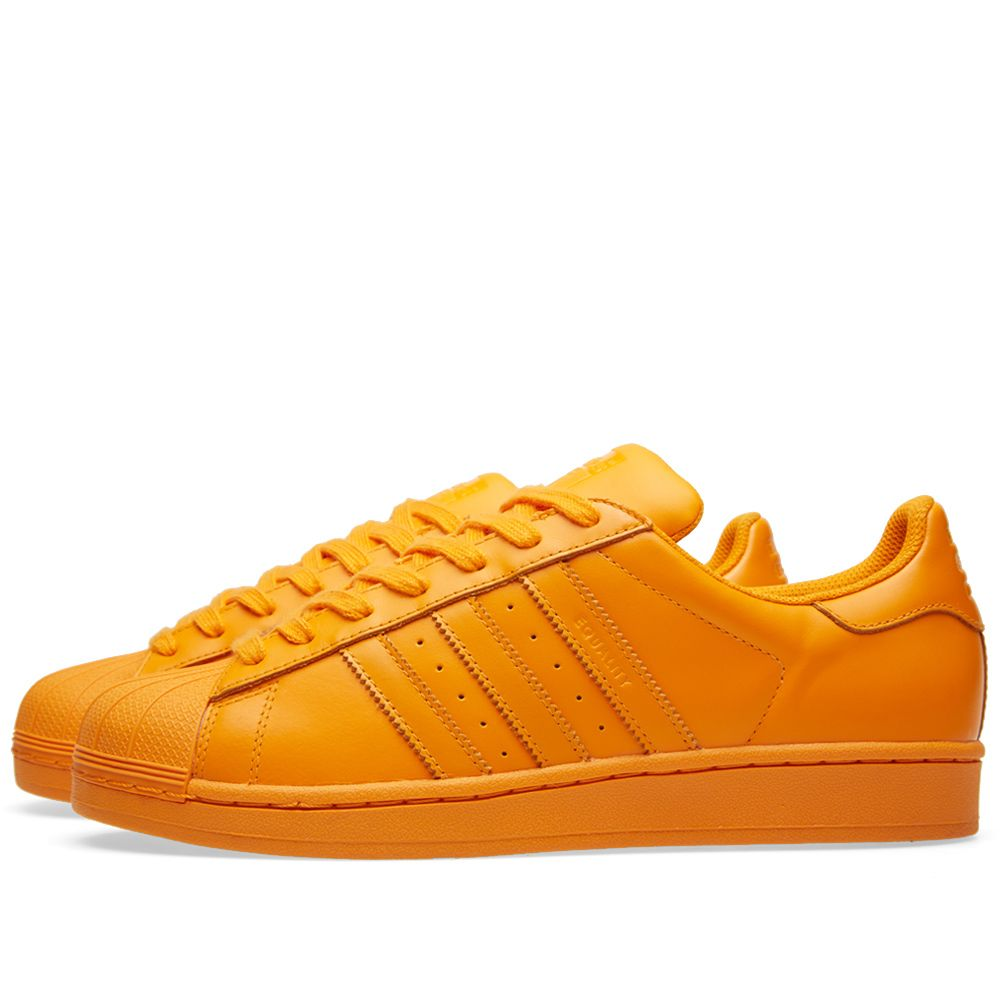 7cabe7f8c349 Adidas x Pharrell Superstar  Supercolour  Bright Orange