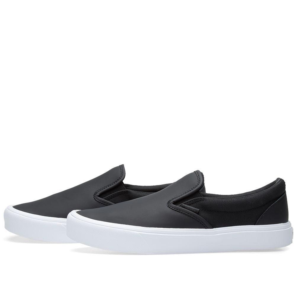 Vans x Rains Slip On Lite Black   True White  f27b2fc92