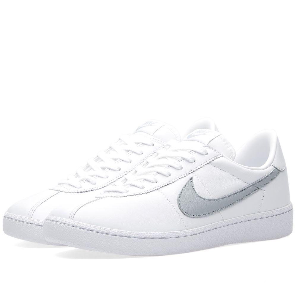 f8e038c141d6 NikeLab Bruin Leather White   Wolf Grey