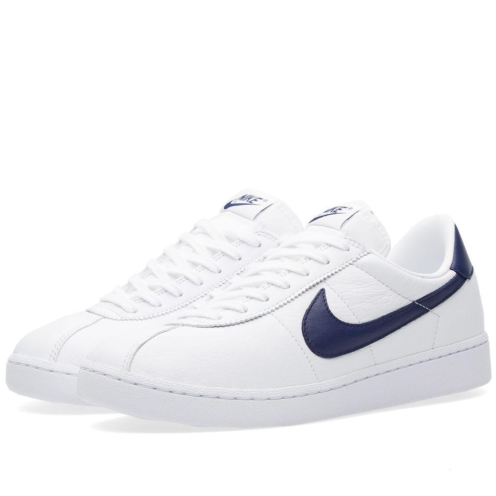 df11a5ff6e89 NikeLab Bruin Leather White   Loyal Blue