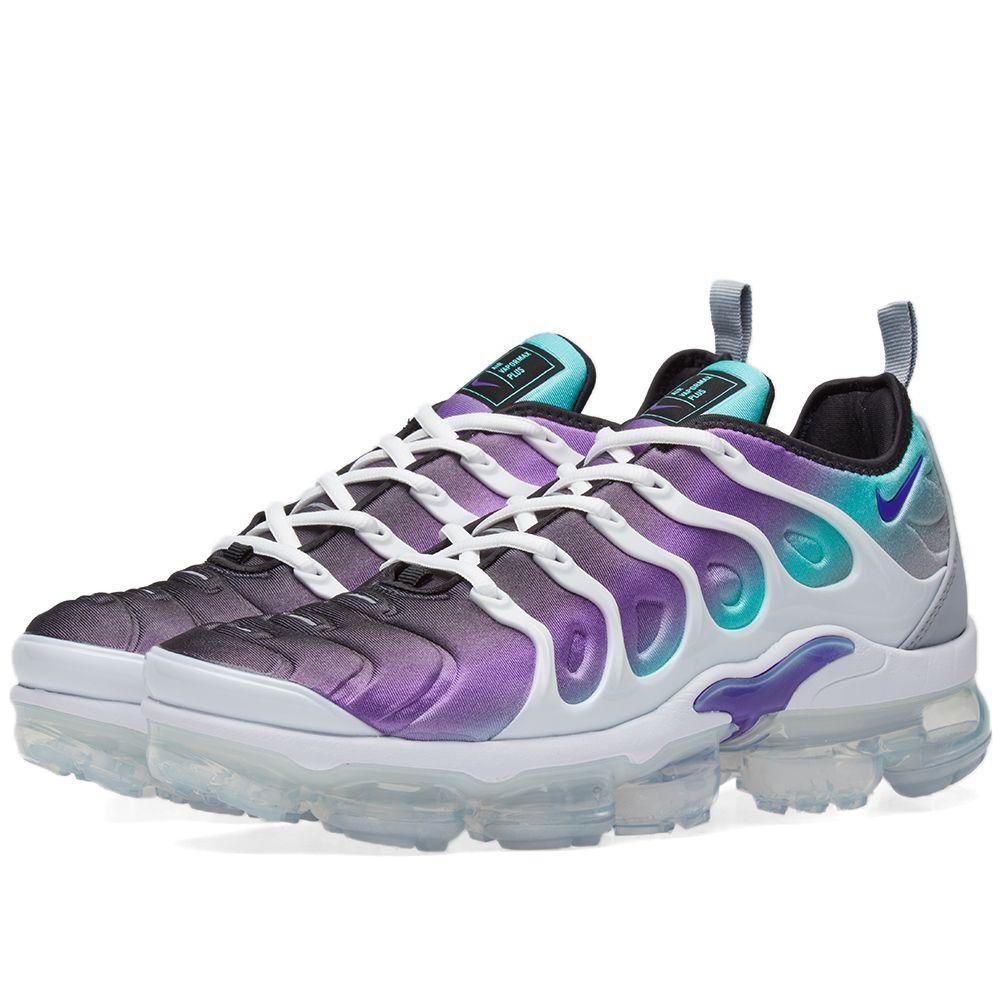 49761ae436134b Nike Air VaporMax Plus Fierce Purple   Aurora Green