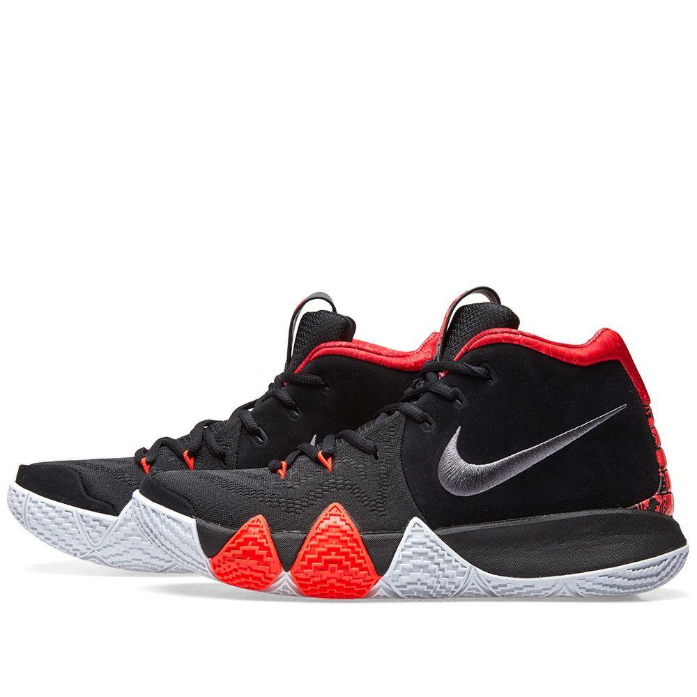 quality design b4465 07361 Nike Kyrie 4 Black, Dark Grey  Crimson  END.