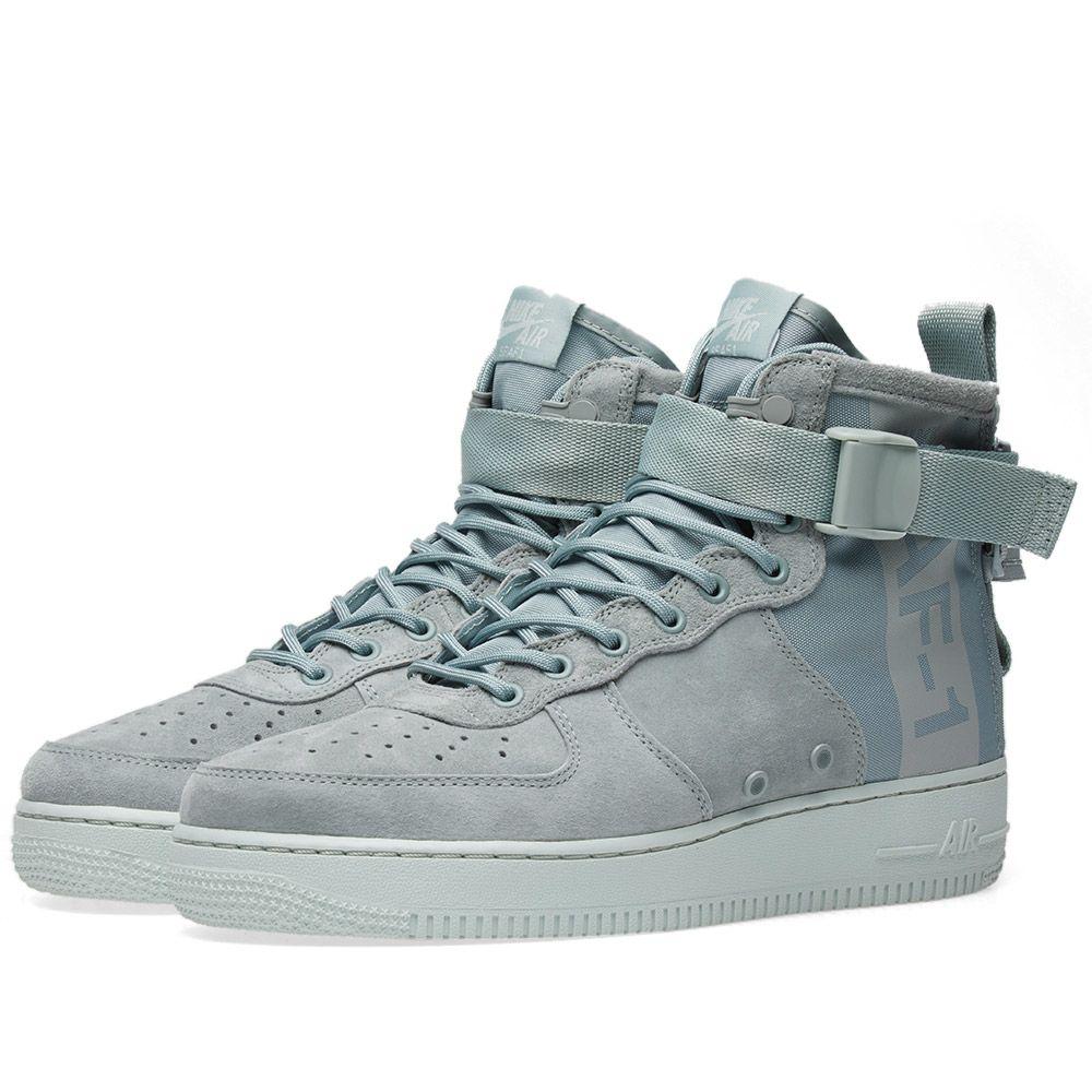 b10ffd8ac5c3 Nike SF Air Force 1 Mid W Light Pumice   Barely Grey