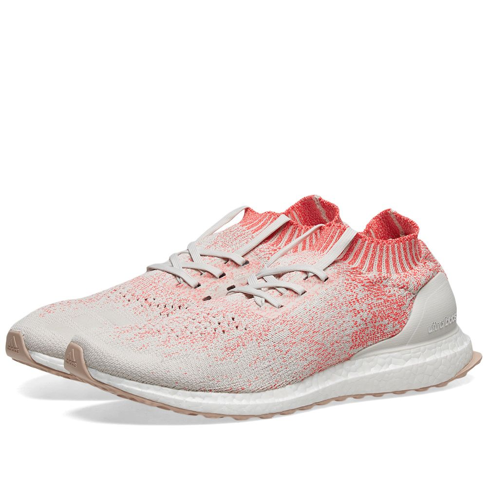 9453264aa4658 Adidas Ultra Boost Uncaged W Raw White   Shock Red