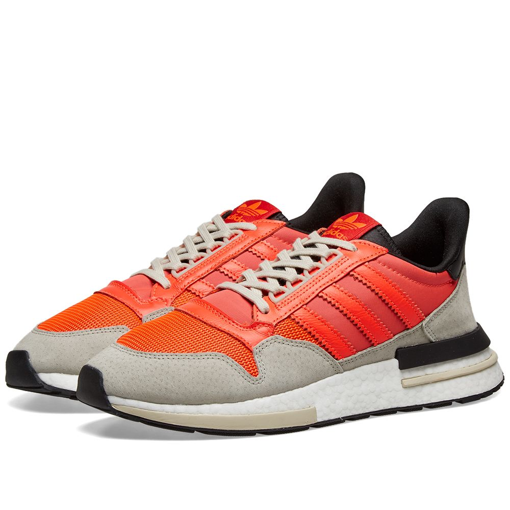 cd5d6db71 Adidas ZX 500 RM Solar Red