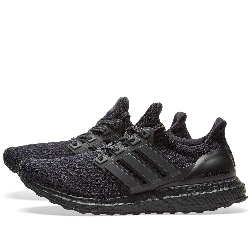 a6c6e100c4e0 Adidas Ultra Boost 3.0 Triple Black