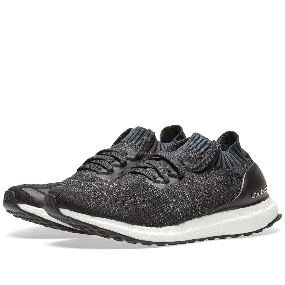 2ef864f98dd4 Adidas Women s Ultra Boost Uncaged Core Black   Dark Grey