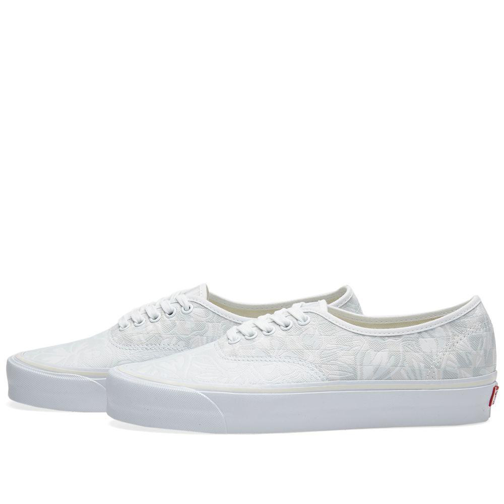 f8717550f6 Vans Vault Authentic Jungle Jacquard LX White